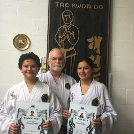 August 2019 Promotions Chi TaeKwon-Do Kendall