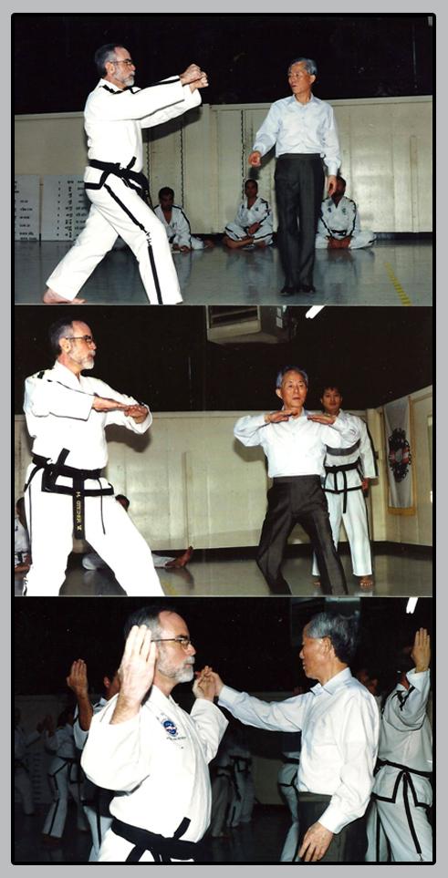 Grandmaster Steiner with GM Choi