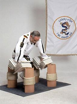 Grandmaster Mel Steiner breaking